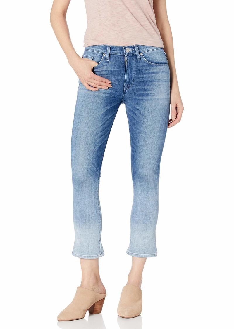 HUDSON Jeans Women's Harper High Rise Crop Baby Kick Flare 5-Pocket Jean
