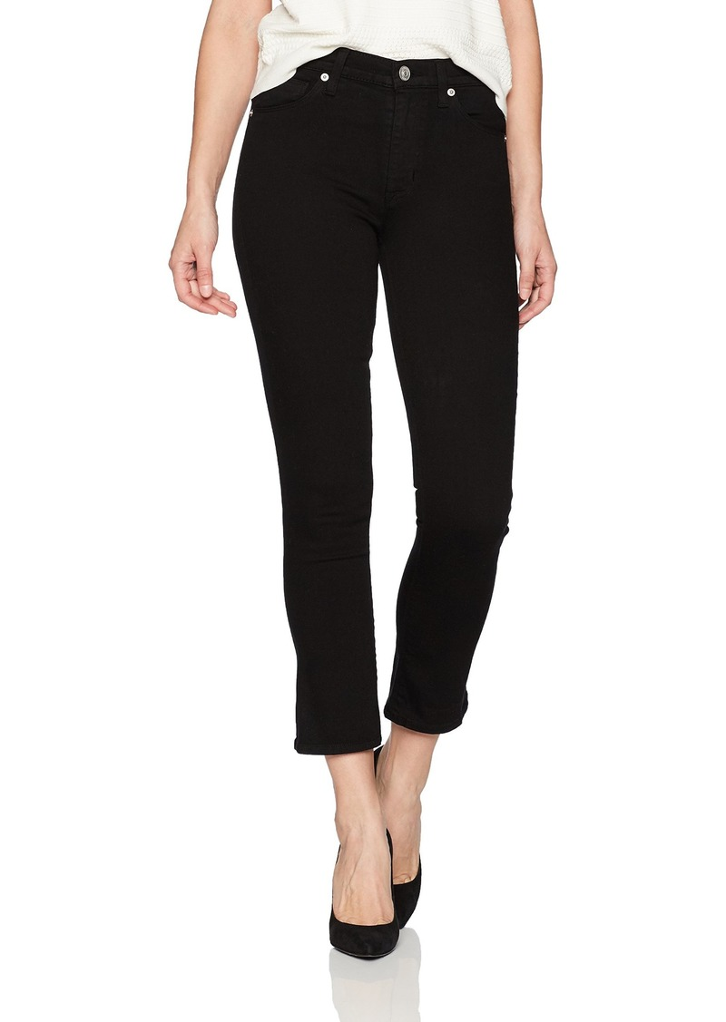 Hudson Jeans Women's Harper High Rise Crop Baby Kick Flare in