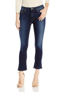 Hudson Jeans Women's Harper High Rise Crop Baby Kick Flip 5 Pocket Jeans
