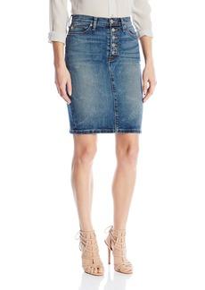 Hudson Jeans Women's Helena High Rise 5 Pocket Pencil Skirt