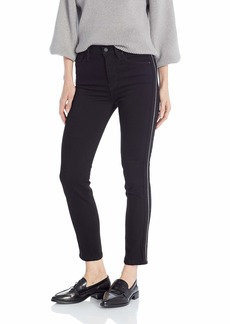 Hudson Jeans Women's Holly HIGH Rise Ankle Skinny 5 Pocket Jean Black LUX