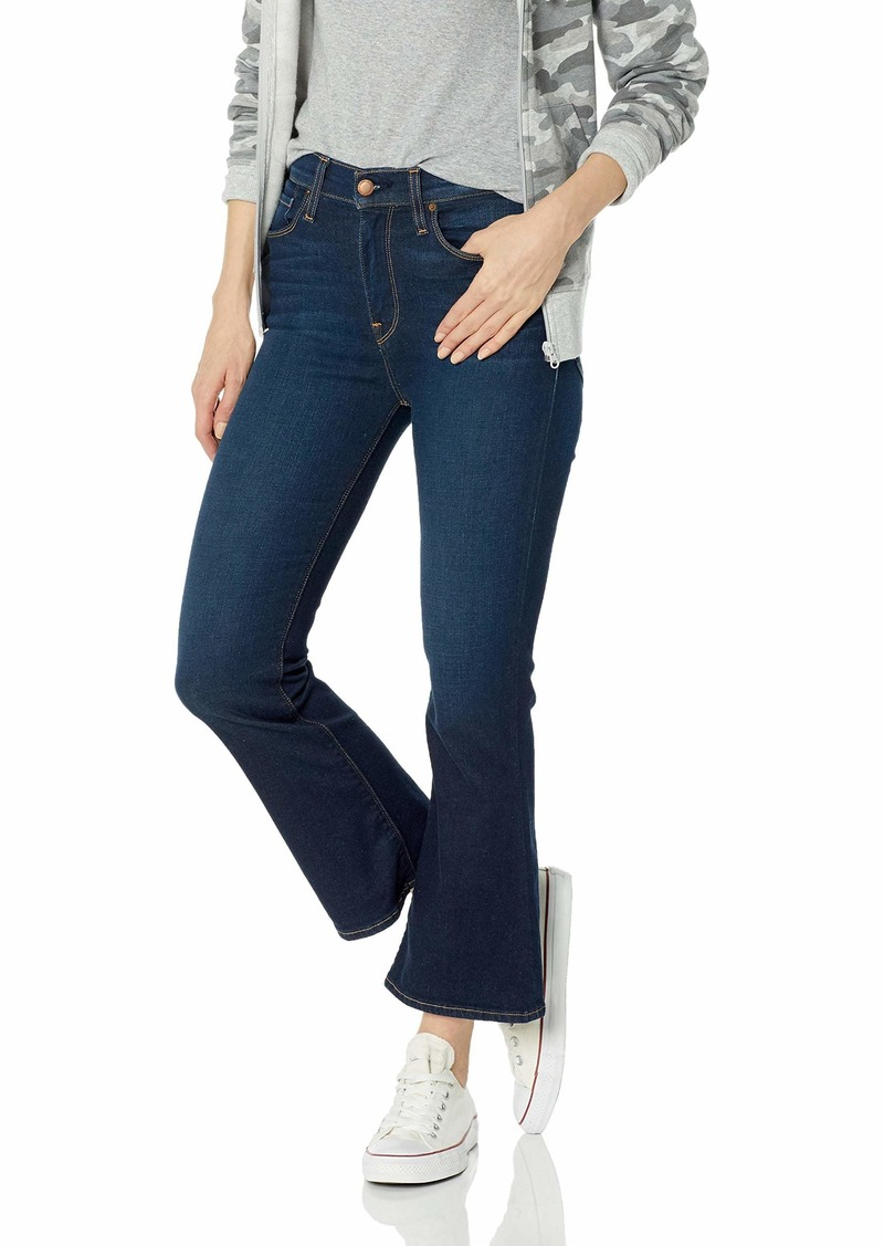 Hudson Jeans Women's Holly HIGH Rise Crop Flare 5 Pocket Jean GET Free