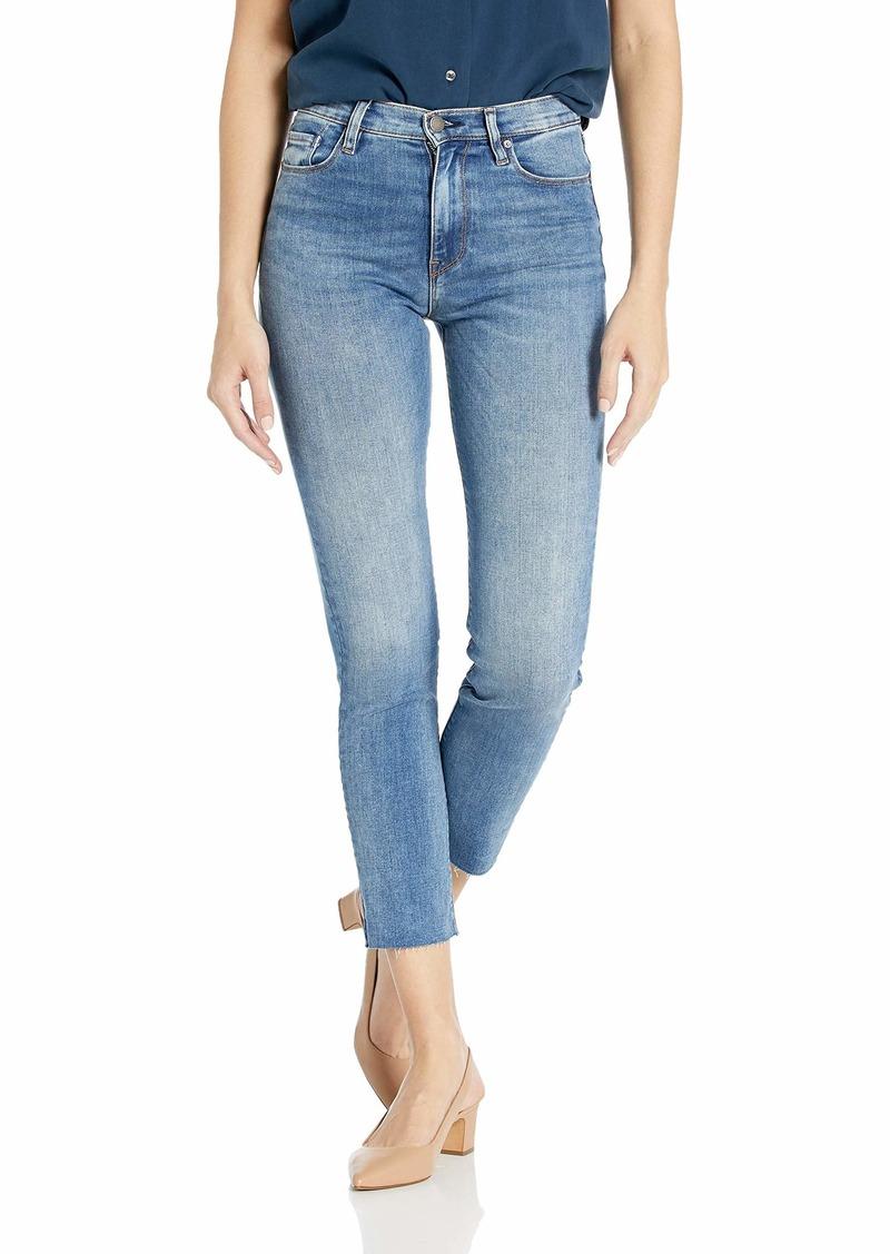 HUDSON Jeans Women's Holly HIGH Rise Crop Skinny 5 Pocket Jean PREPARTY w/raw Hem
