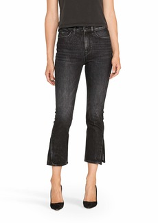 HUDSON Jeans Women's Holly HIGH Rise Crop Straight isle
