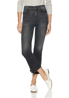 Hudson Jeans Women's Holly HR Crop Flare (BK DET)