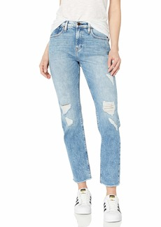 HUDSON Jeans Women's JESSI Relaxed Cropped Boyfriend 5 Pocket Jean