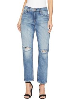 Hudson Jeans Women's JESSI Relaxed Cropped Boyfriend 5 Pocket Jean Santa fe AVE