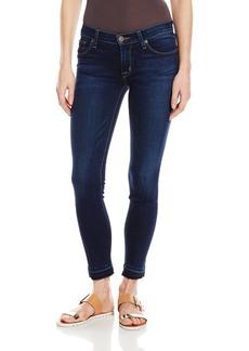 Hudson Jeans Women's Krista Crop Super Skinny With Released Hem 5-Pocket Jean