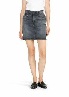HUDSON Jeans Women's LULU 5 Pocket Denim Skirt alarming
