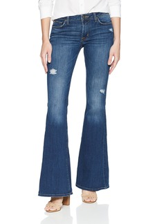 Hudson Jeans Women's Mia 5 Pocket Midrise Flare Jean Worth IT
