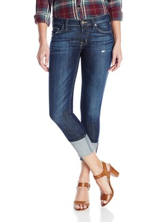 Hudson Jeans Women's Muse Crop Skinny With Five Inch-Cuff 5-Pocket Jean  24