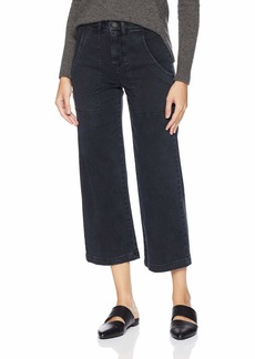 HUDSON Jeans Women's Nico Mid Rise Straight Crop Cargo Pant