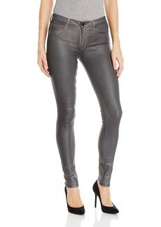 Hudson Jeans Women's Nico Mid-Rise Super Skinny 5-Pocket Coated Jean