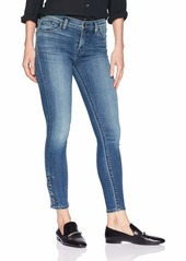 HUDSON Jeans Women's Nico Mid Rise Super Skinny Cropped Jeans