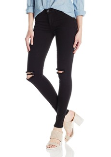 Hudson Jeans Women's Nico Midrise Ankle Destructed Super Skinny impair