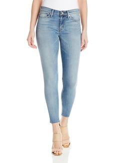 Hudson Jeans Women's Nico Midrise Ankle Raw Hem Super Skinny 5-Pocket Jean