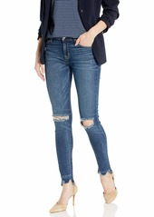 Hudson Jeans Women's NICO Midrise Ankle RAW Hem Super Skinny Squeal