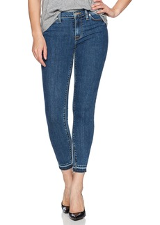 Hudson Jeans Women's Nico Midrise Ankle Skinny with Released Hem Jeans