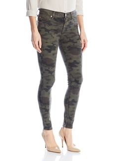 Hudson Jeans Women's Nico Midrise Ankle Super Skinny 5-Pocket Jean Infantry CAMO