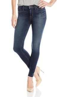 Hudson Jeans Women's Nico Midrise Ankle Super Skinny W Raw Hem