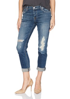 Hudson Jeans Women's Nico Midrise Ankle Super Skinny W Released Hem