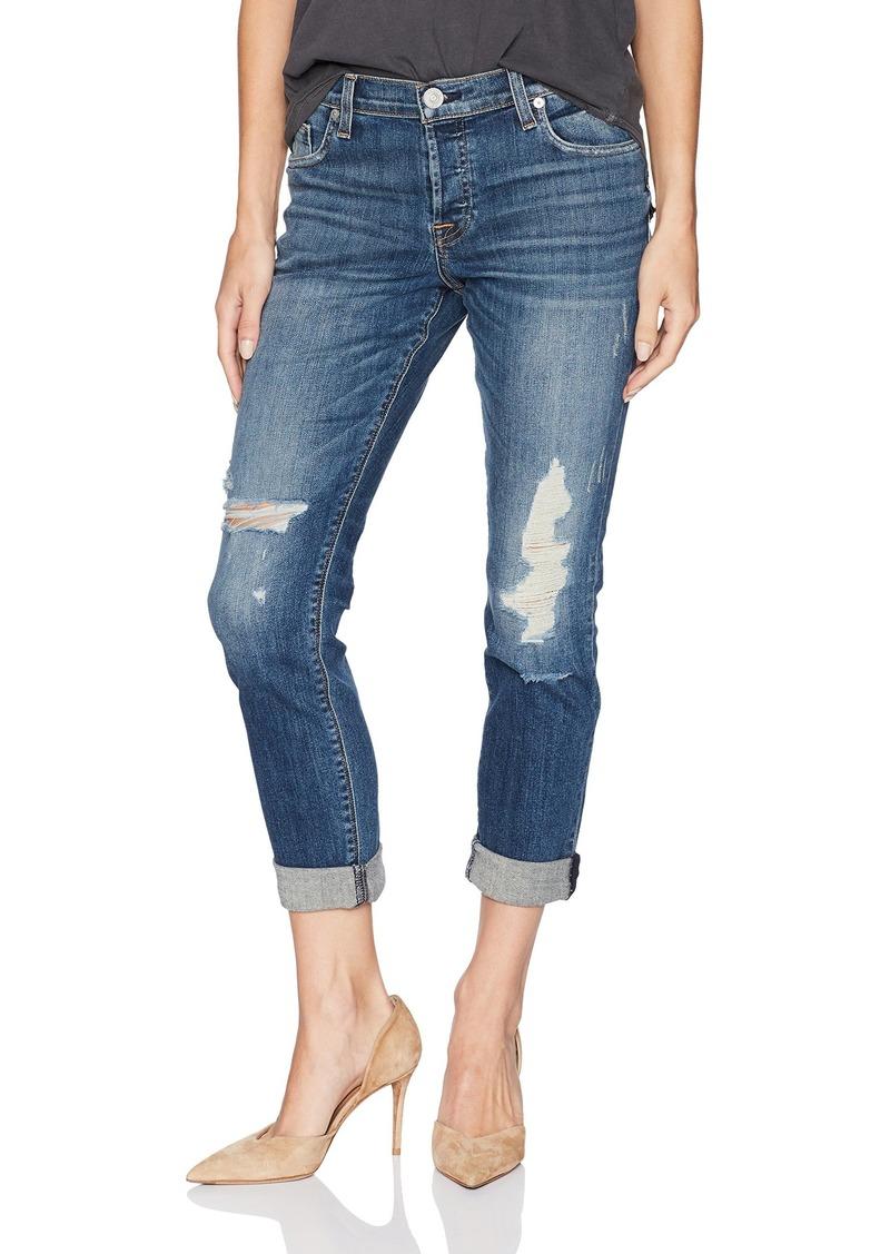 HUDSON Jeans Women's Nico Midrise Ankle Super Skinny W Released Hem