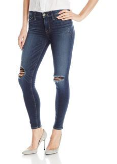 Hudson Jeans Women's Nico Midrise Ankle W Distress Super Skinny