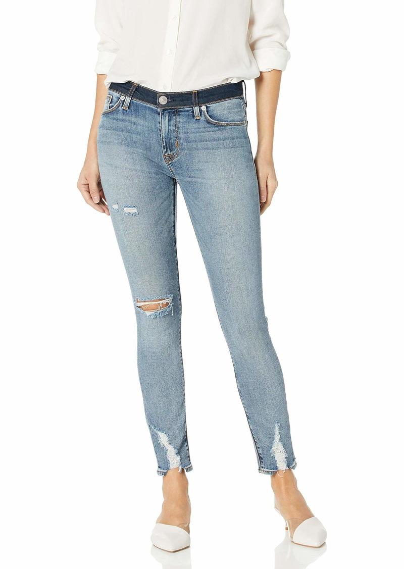 HUDSON Jeans Women's Nico Midrise Super Skinny Cropped Jean
