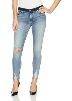 Hudson Jeans Women's Nico Midrise Crop Super Skinny 5 Pocket Jean