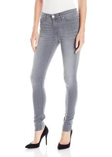 Hudson Jeans Women's Nico Midrise Super Skinny Gray Wash 5 Pocket Jean