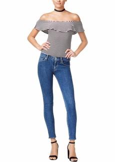 Hudson Jeans Women's Nico Midrise Super Skinny Stonewash Jeans ONE Way