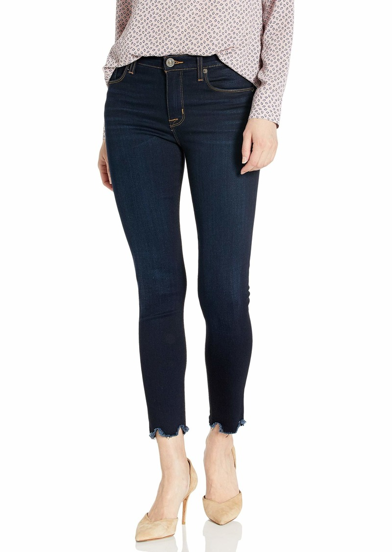 HUDSON Jeans Women's NICO Midrise Super Skinny Too Soon with raw Hem
