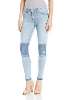 Hudson Jeans Women's Nico Midrise Super-Skinny With Raw Hem 5-Pocket Jean