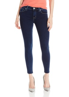 Hudson Jeans Women's Nico Midrise Super-Skinny With Raw Hem 5-Pocket Jean
