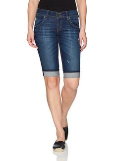Hudson Jeans Women's Palerme Knee Cuffed Jean Short