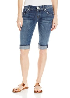 Hudson Jeans Women's Palerme Knee Denim Short ALABASTER DAZE
