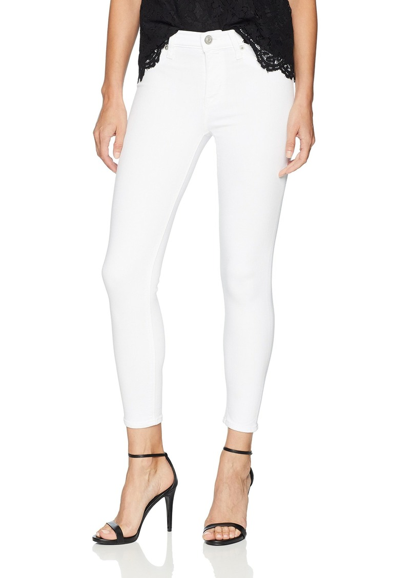 HUDSON Jeans Women's Petite Nico Midrise Super Skinny Cropped Jean