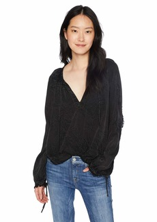 Hudson Jeans Women's Raglan TOP  SM