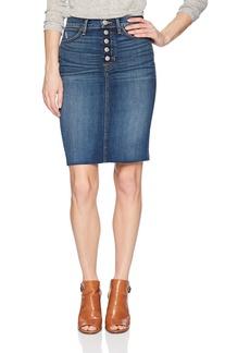 Hudson Jeans Women's Remi High Rise Denim Pencil Skirt