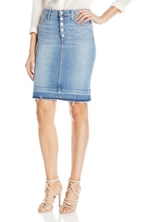 Hudson Jeans Women's Remi High Rise Pencil Skirt