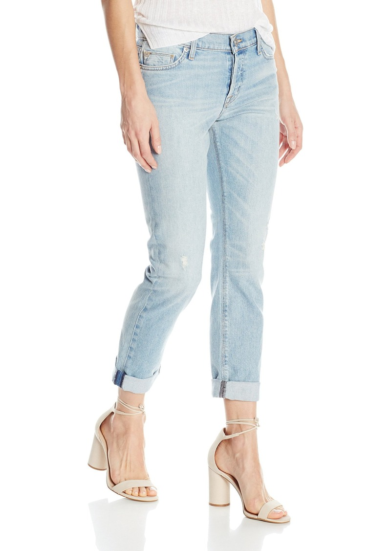 Hudson Jeans Women's Riley Crop Relaxed Straight