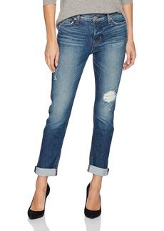 Hudson Jeans Women's Riley Crop Relaxed Straight 5 Pocket Jean Set IT Off 28