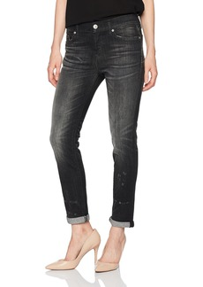 Hudson Jeans Women's Riley Crop Relaxed Straight Jeans
