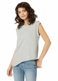 HUDSON Jeans Women's Rolled Sleeve Tank  XS