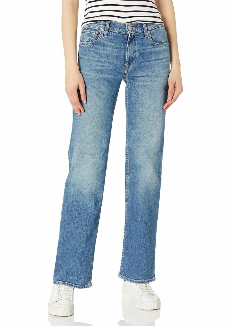 HUDSON Jeans Women's Rosie High Rise Wide Leg Jean