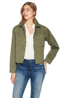 Hudson Jeans Women's Route Field Jacket  LG
