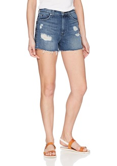 Hudson Jeans Women's Sade Lace up Cut Off Jean Short