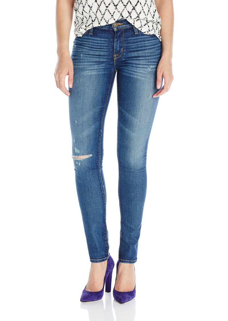 Hudson Jeans Women's Shine Midrise Skinny 5-Pocket Jean  28