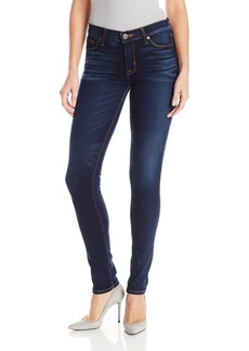 Hudson Jeans Women's Shine Midrise Skinny 5-Pocket Jean CALVARY 25