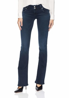 Hudson Jeans Women's Signature Midrise Bootcut Flap Pocket n' Out